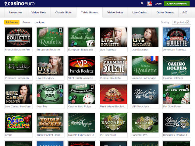 CasinoEuro screenshot 3